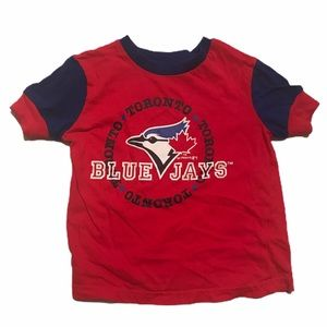 🧚♀️4/$25 MLB Toronto BlueJays T-shirt 3-4T